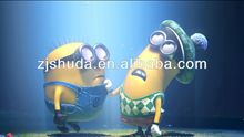 famous cartoon character Despicable Me 3d picture printing 3d photo for 3d lenticular