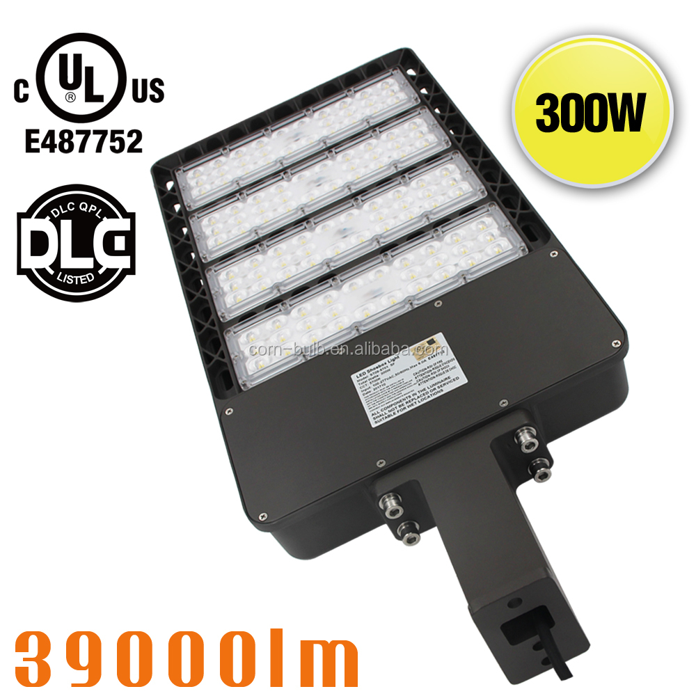 IP65 Waterproof 300W Outdoor LED Street Lighting SMD3030 1500W HPS Retrofit Kits Car Parking Area Light Replacement 110V 120V UL