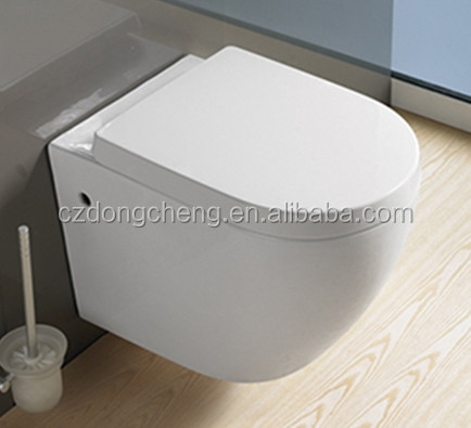 modern bathroom design ceramic wall hung toilet and basin price with concealed cisterm