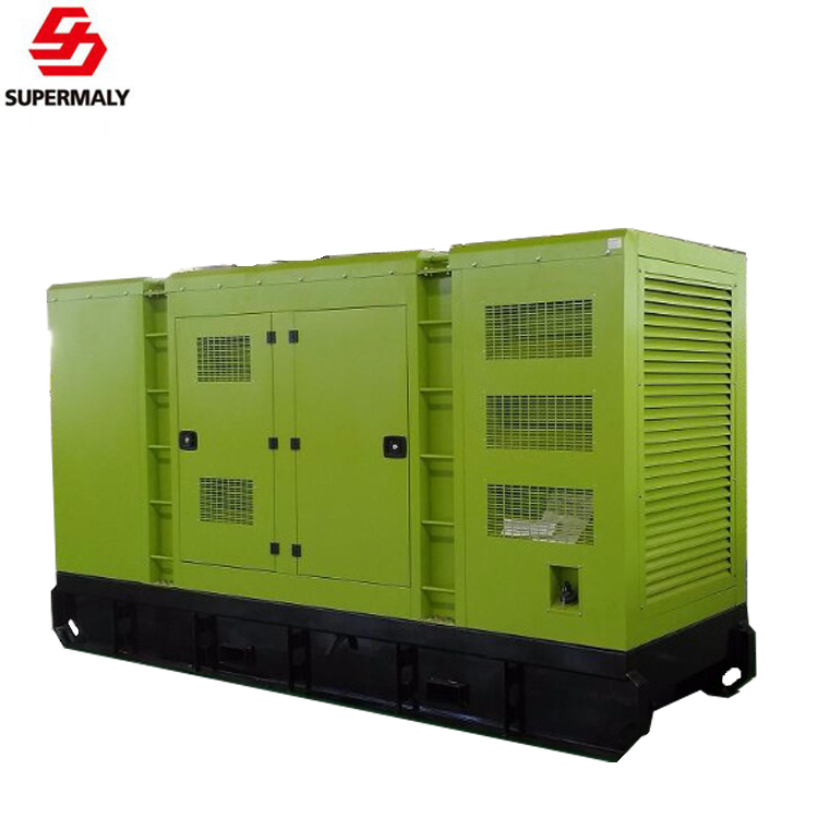 Hot!Yuchai open/silent 50kw diesel generator 62.5KVA genset AC three phase output with AVR ATS