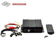 BRVISION cheap 4CH HD SD Card WiFi 3G 4G Mobile DVR For Vehicles good as 3g mobile dvr dahua