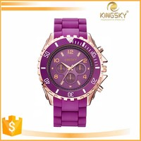 hot sale colorful lady hand watch for women