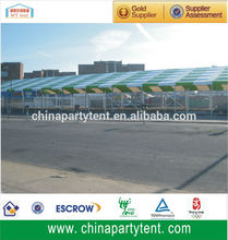 small or big high strength aluminium structure canopy or tent with red and white PVC cover for