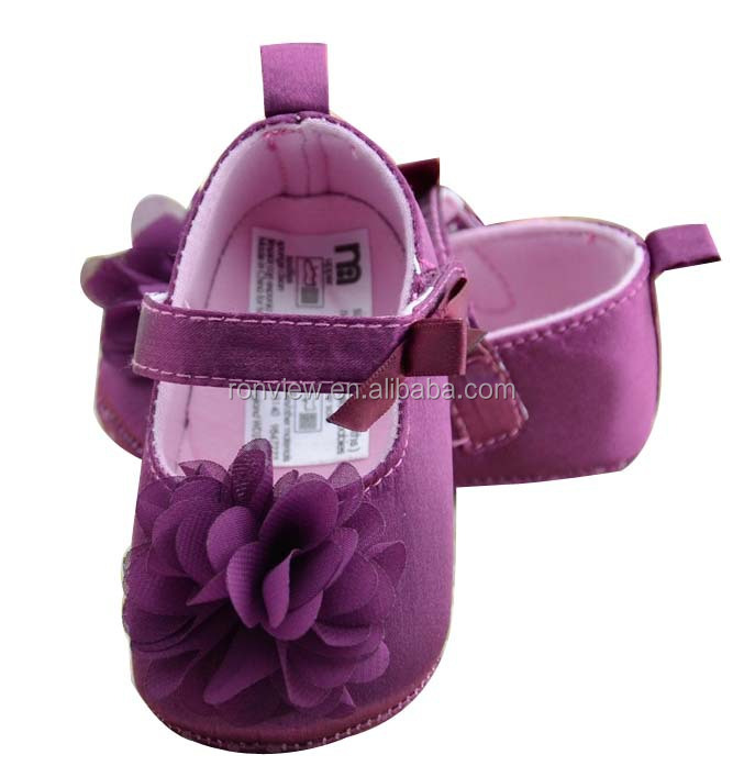 Hot sale good quality sweet fancy baby girl shoes