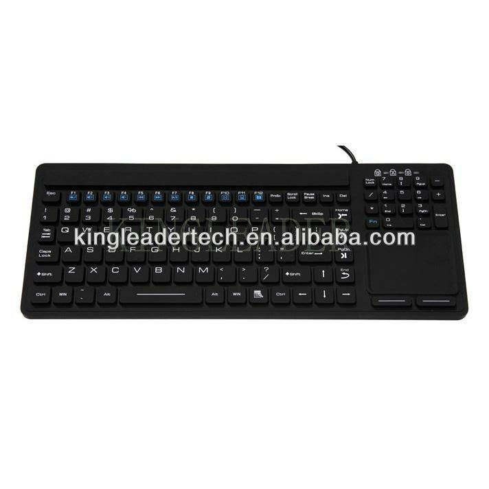 Silicone Keyboards with touchpad mouse