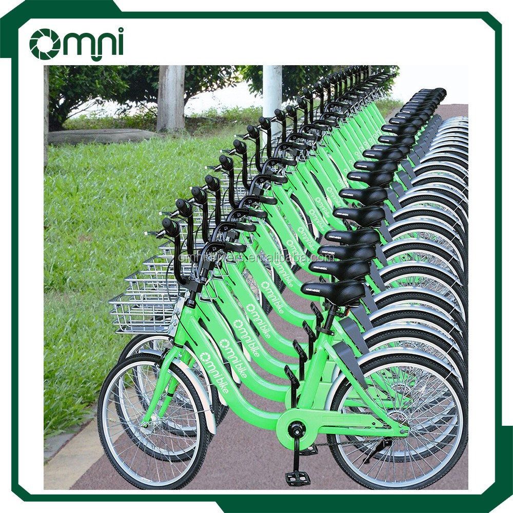 Omni smart bike lock system with gps / gprs/ bluetooth BLE functions remote control by mobile phone app scan QR code to unlock