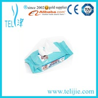 custom wet wipes for container or single package