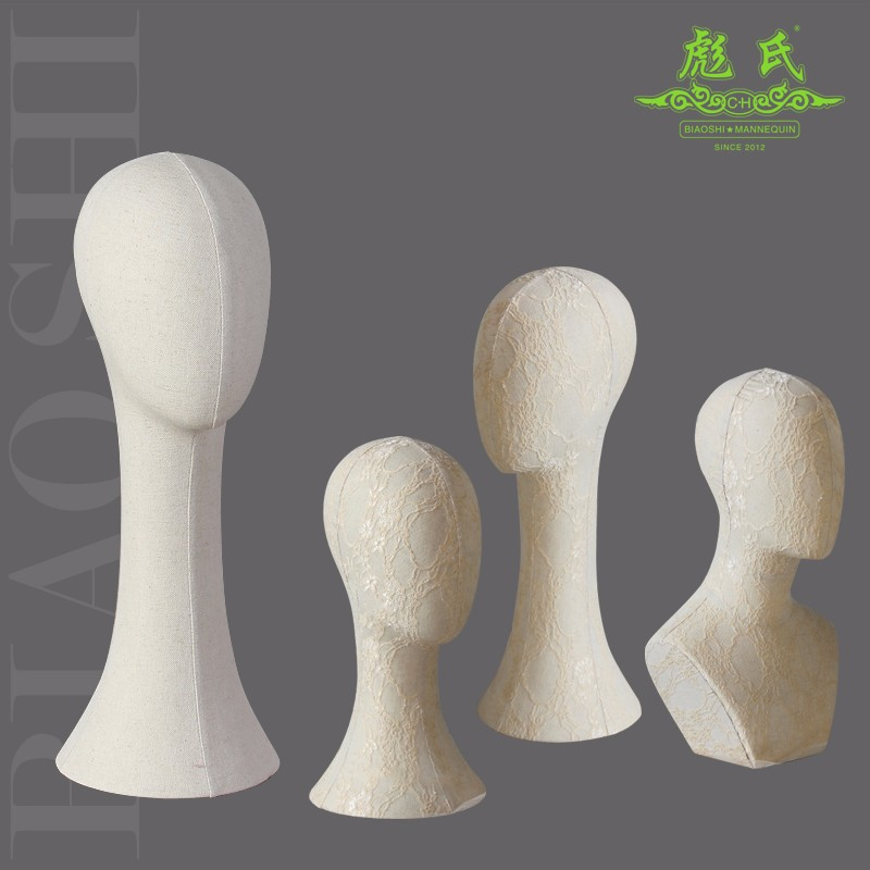 Hot Sale China Factory 2017 Top Quality Customized Long Foam Head,Neck Mannequin Head