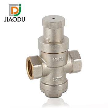 pressure regulating relief valve Max pressure upstream 16bar-25bar adjustable downstream pressure setting range 1 to 8 bar