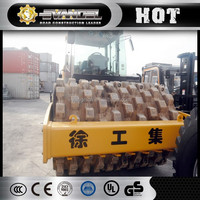 XCMG 16ton earth roller XS163J concrete roller stamps