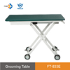 FT-833E light weighted cheap dog table electric lifting pet resort portable pet grooming table