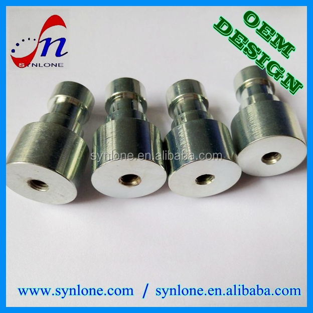 Customized metal fabrication SS304 precision parts by CNC machining