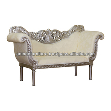 Heavy Carved Wedding Silver Sofa
