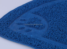 Cat Litter Mat Soft Easy on the Paws Effectively Prevents Litter Tracking by Trapping Cat