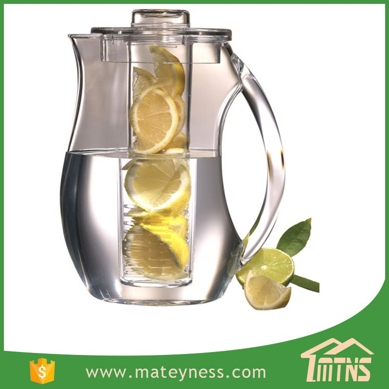 Iced Fruit and Tea Infusion Pitcher