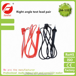 hot-selling Multimeter Test Lead Probe Wire Cable Pair Banana Plug Multimeter Lead Set red and black