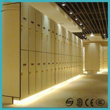 Brand new factory direct sale waterproof z shape phenolic hpl locker with high quality