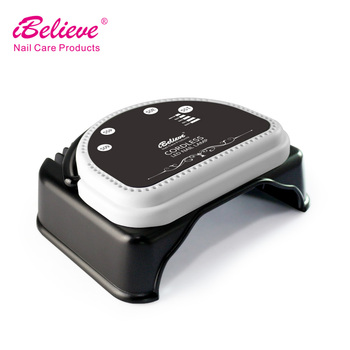 IBelieve TP46e rechargeable machine 64w led gel curing uv lamp