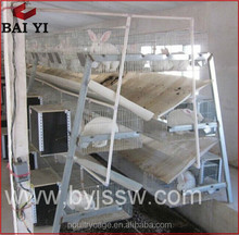 BAIYI Cheap Large Scale Folding Galvanized Welded Industrial Rabbit Cage Wire Mesh(H & A type)