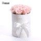 Custom Exquisite Round Cylinder Flower Packaging Gift Box