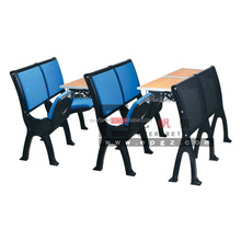 Folding Table And Chair /School Desk With Attached Chair/Antique Student Desk,Wooden student step desk&chair