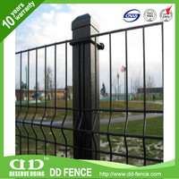 Hot dipped galvanzied welded mesh panel for fence