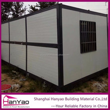 Container Mobile Prefab Steel Structure Villa Prefabricated Sandwich Panel Hanyi House