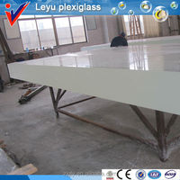 Various acrylic large edge plastic panel for swimming pool
