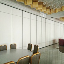 Hot Selling Aluminum Frame Melamine Board Material Sliding Operating Room Doors for Conference Room