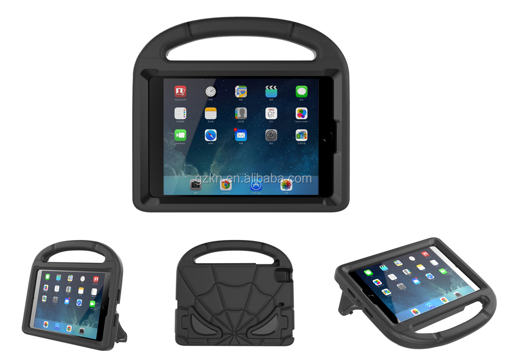 Universal EVA foam shockproof case for iPad Mini 12345 with strong stand and handle stand