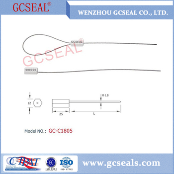 Pull Tight Cable Aluminium alloy body Seal GC-C1805