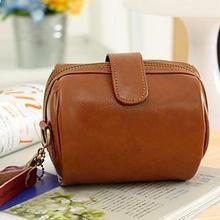 Korean the 2014 women's new mini and small leather bag retro simple lomo style camera bag portable shoulder Messenger
