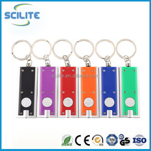 Mini Portable LED Camping FlashLight Key Ring Keychain Lamp Light Torch
