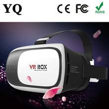 YQ 2016 hot sale new product Vr 3d glasses,3d virtual reality headset,video glasses
