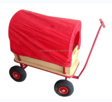 TC1812 four wheel children wooden garden hand cart