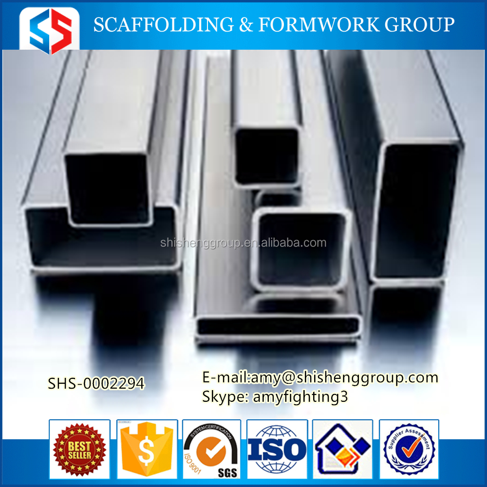 Tianjin SS Group Black Welded Square/rectangular Steel Pipe Q235 Q345 Square Pipe 200*200