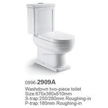 Seprated toilet sanitary ware toto luxury sanitary ware