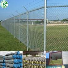 Free sample pvc fence vinyl coated cheap chain link used fence for farm
