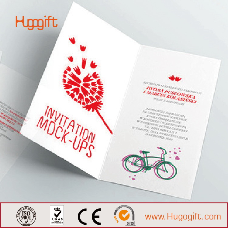 Low Price Best Sell Wedding Card Letterpress