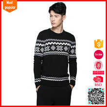 2017 New fashion mexican sweaters pullover men's jacquard sweater