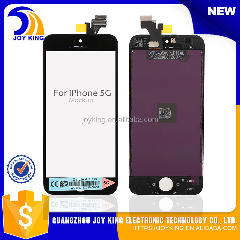 New hot selling products High quality lcd flex cable for iphone 5