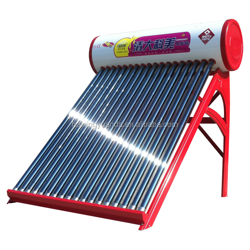 The latest design unpressurized solar water heater production line