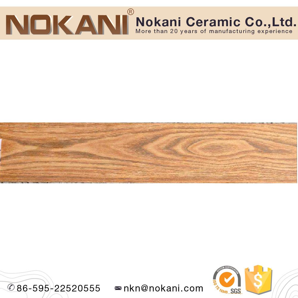 China Factory Fujian Tile Wood Finished Ceramic Tile For Bedroom Floor and Wall