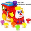 B O Train Toy With Blocks