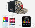 2016 year new products Bluetooth baseball cap/hat with earphone all in one