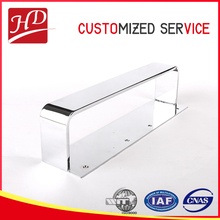 Square stainless steel base parts , metal furniture product