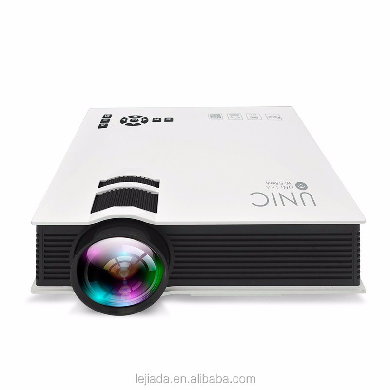 Shenzhen good quality UC46 Phone wireless HDMI HD led projector 3d 4k projector