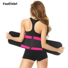 FeelinGirl Thermo Latex Body Shaper Underwear Women Slim Shapewear Fajas Fajas Reductoras Sweat Slimming Belt Waist Trainer B
