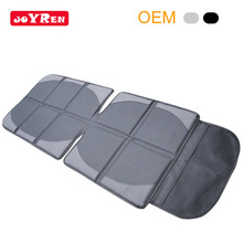 Amazon hot sale leather baby car seat protector with anti-slip mesh