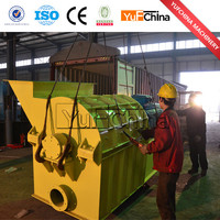Easy operate small pollution wood chips crusher